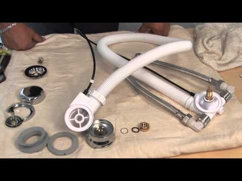 How To Fit Bristan Combined Overflow And Bath Filler Youtube