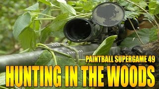 HUNTING IN THE WOODS FOR PAINTBALLERS!