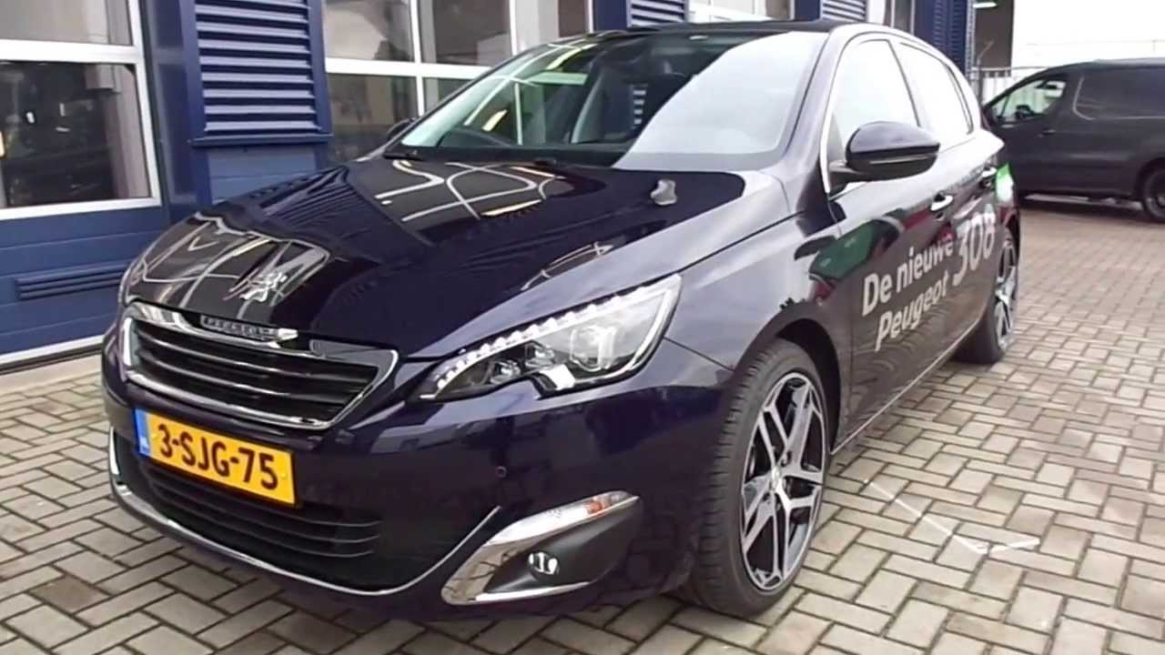 Peugeot 308 1.6THP 125PK - YouTube
