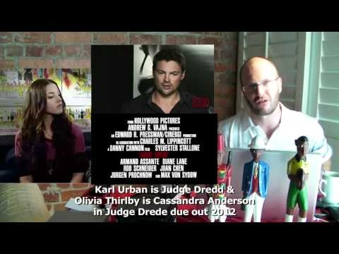 Judge Dredd 2012 Reboot - Olivia Thirlby & Karl Urban -- Tyrone Rubin Film Show