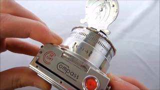LeCoultre Compass Camera II Overview- vintage 35mm film camera from 1937