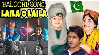 Laila O Laila - ALI ZAFAR ft 12 year old Urooj Fatima | Balochi Song Reaction by Mum & Son