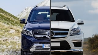 2017 Mercedes-Benz GLS 350d vs. Mercedes-Benz GL350 BlueTEC