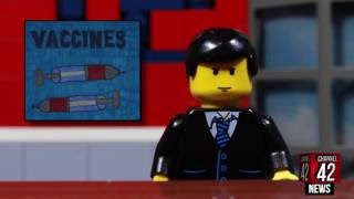 CHANNEL 42 - LEGO TV NEWS SATIRE