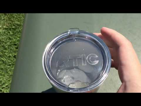 RTIC 30 oz. Tumbler Torture Test and Review