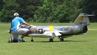 Giant Rc F-104 Starfighter