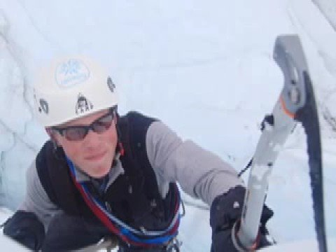 Matanuska Glacier Ice Climbers
