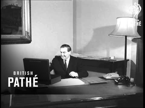James Callaghan In His Office AKA James Callaghan In Office (1965)