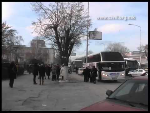 Конвој автобуси за Унијата на жените на ВМРО-ДПМНЕ, Прилеп