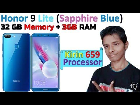 Honor 9 Lite (Sapphire Blue, 32 GB Memory, 3 GB RAM) | Kirin 659 Processor