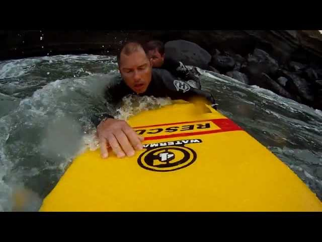 Inflatable Rescue Surfboards | C4 iRescue Inflatable Board: Single Rescuer Conscious Victim 2