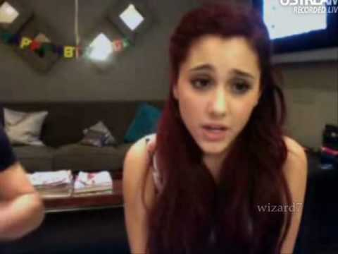 Ariana Grande does impressions