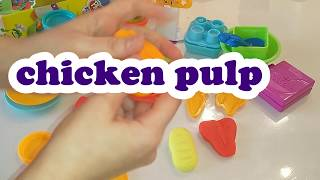 Learn colors  Play doh Kitchen Set