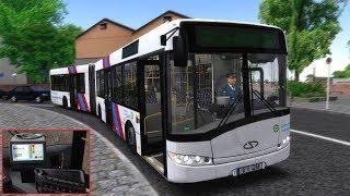 Solaris ATRON MOD / LP OMSI 2 Ahlheim und Laurezbach Updated Linie 30 | Realer BVG Solaris
