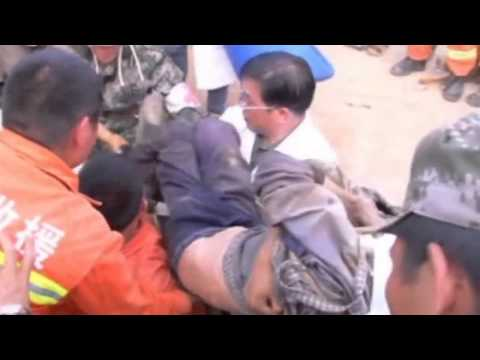3-year-old and elderly woman buried in China earthquake rubble rescued