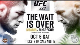 MMA Khabib vs Mcgregor