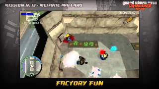 Grand Theft Auto Chinatown Wars Walkthrough - Mission #13 - Factory Fun Game Video Walkthroughs