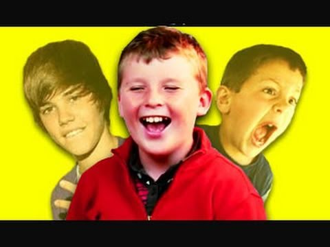 Kids React to Viral Videos #4 (David After Dentist, Justin Bieber Hit at Concert)
