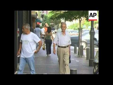 WRAP UN Secretary General leaves Beirut for south, vox pops, tours Naqoura