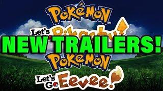 6 NEW POKEMON LET'S GO TRAILERS COMING SOON - Pokemon Let's go Gameplay