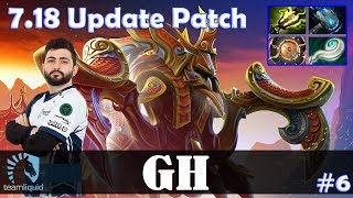 GH - Nyx Assassin Offlane | 7.18 Update Patch | Dota 2 Pro MMR Gameplay #6