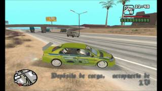Gta San Andreas-(Lancer Evolution)Fast Furious super salto