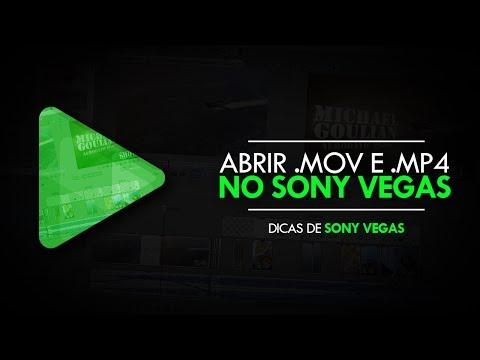 Como abrir arquivos MOV e MP4 no Sony Vegas - QuickTime