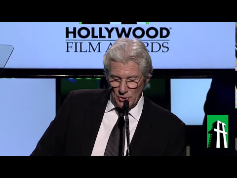 Richard Gere at the Hollywood Film Awards