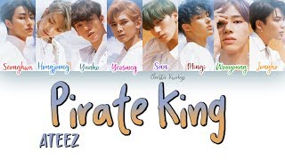 Ateez Pirate King 해적왕 Color Coded Han Rom Eng
