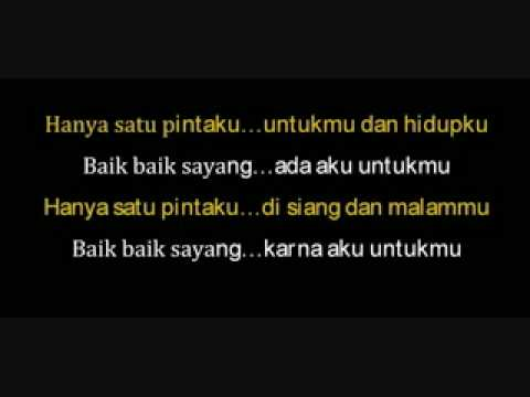 BAIK SAYANG: : : BY WALI BAND