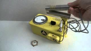 Victoreen CDV-700 6A and Lanco Wristwatch