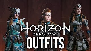 Horizon Zero Dawn - Outfit Customization & Weapons