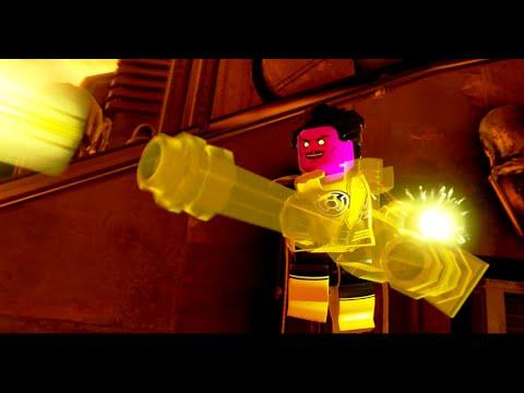 LEGO Batman 3: Beyond Gotham - Level 14: Aw-Qward Situation (Green Lantern/Batman/Wonder Woman)