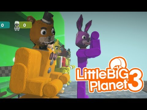 LittleBIGPlanet 3 - Five Nights at Freddy's CRAZY DEATHRUN [Playstation 4]