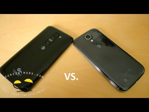 Full Battle Vid: LG G2 vs  Samsung Galaxy S4