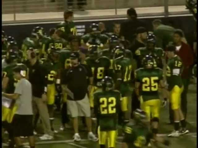Golden West College Football vs Harbor College 10-1-11 Part 1