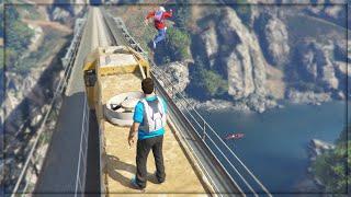 GTA 5 Online: STUNT FAILS! (GTA 5 Funny Moments)
