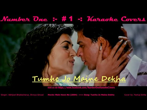 Tumhe Jo Maine Dekha - Karaoke Cover Song - on No1KC