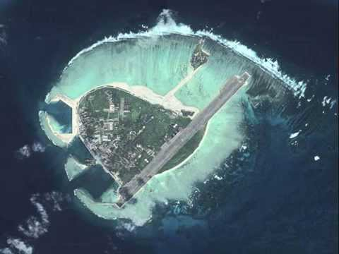 China building massive island big enough for airstrip, report says