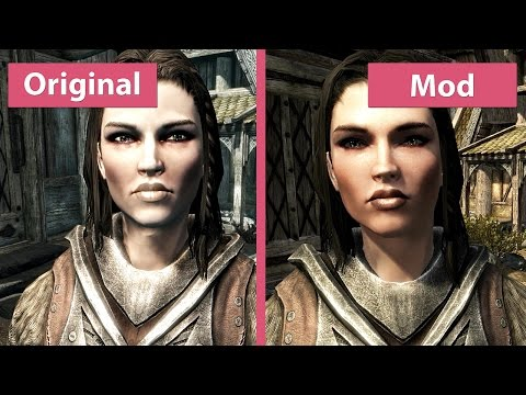 Skyrim – Maximum Graphics Overhaul 2015 vs. Vanilla Comparison [WQHD 1440p]