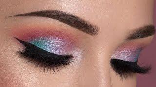 Soft Colorful Smokey Eye Makeup Tutorial