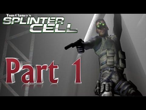 Splinter Cell - Stealth Walkthrough-part 1(Training-Police Station)1080p
