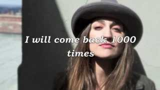 Watch Sara Bareilles 1000 Times video