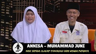 Gowes Cilacap-Ponorogo Demi Wisuda Putrinya | HITAM PUTIH (07/08/18) 2-4
