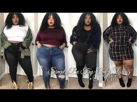 SimplyBe Fall Trendy Plus Size Try-On Haul & Styling + GRWM (Quick & Easy)