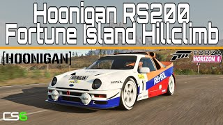 Hoonigan Ford RS200 Hillclimb Custom Route - Fortune Island