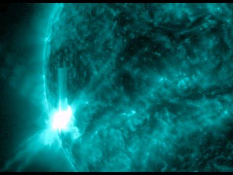 M9 Solar Flare, U-Yen Storm, Tornado Risk | S0 News March 8, 2015