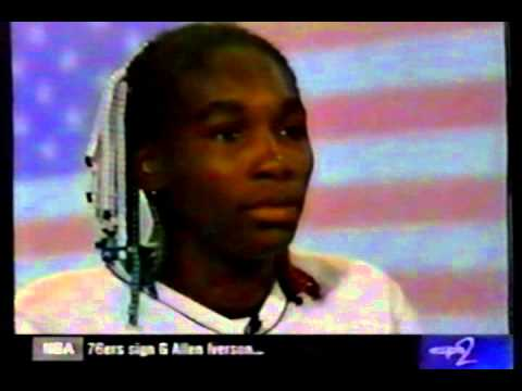 Venus Williams bead incident - 1999 Australian Open (interviews)