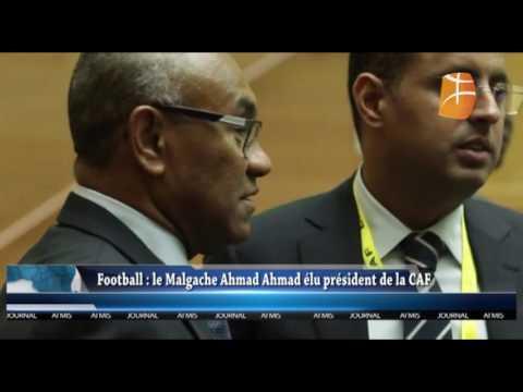 Ahmad nouveau président de la CAF