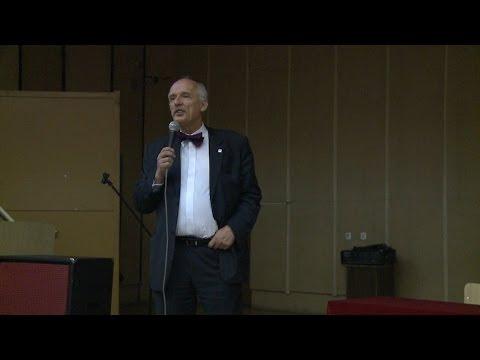Janusz Korwin-Mikke W Częstochowie 21.11.2013 Część 1